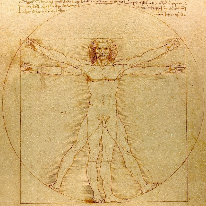 DaVinci's Vitruvian Man reminds us that technology performs best as an extension of our very human traits.